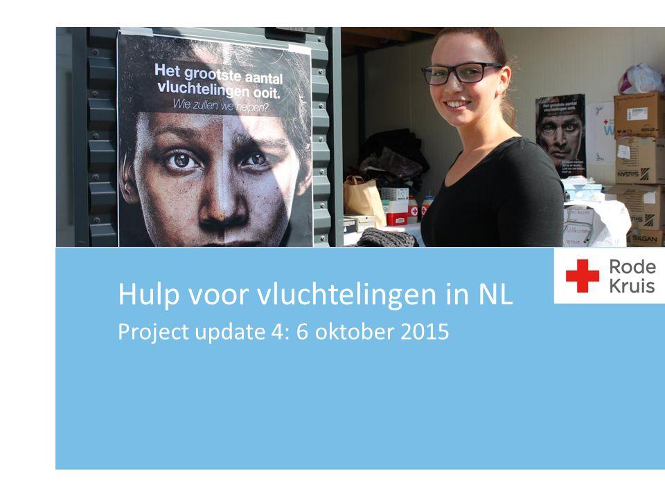 Hulp voor vluchtelingen in NL