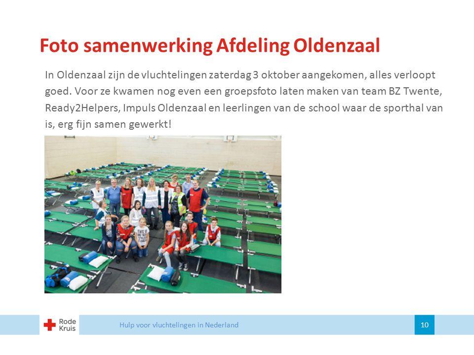 Foto samenwerking Afdeling Oldenzaal