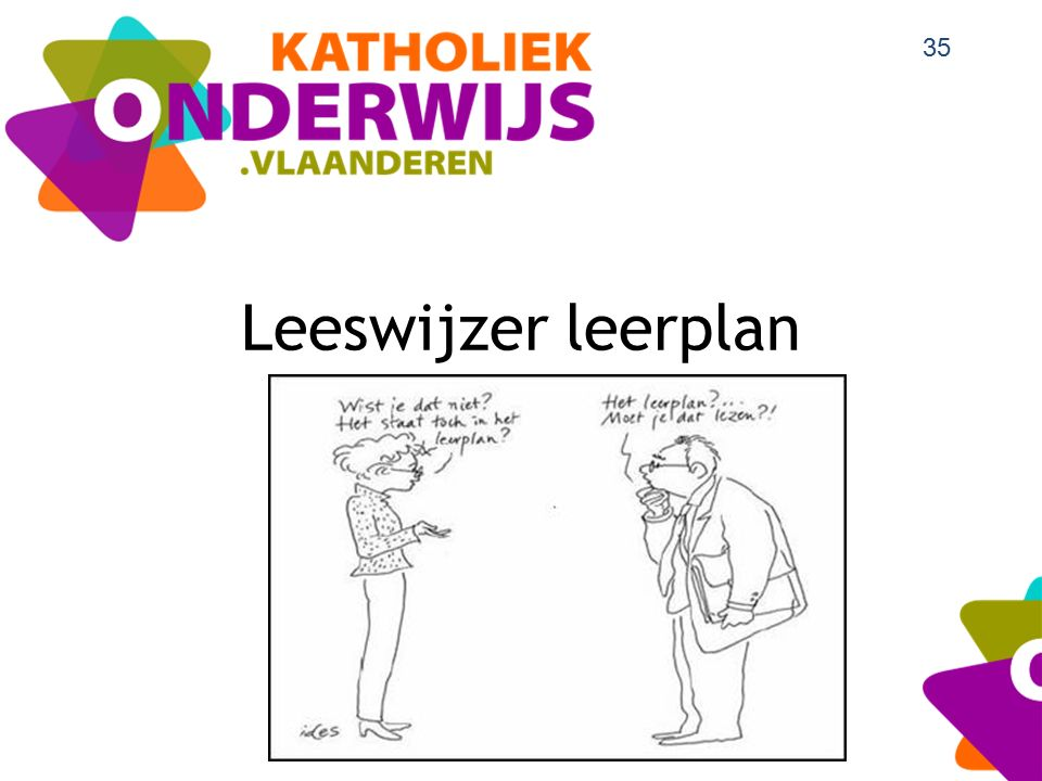 Leeswijzer leerplan