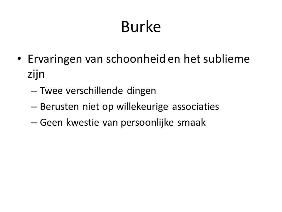 Burke Ervaringen van schoonheid en het sublieme zijn