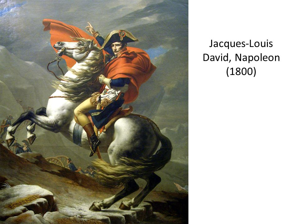 Jacques-Louis David, Napoleon (1800)