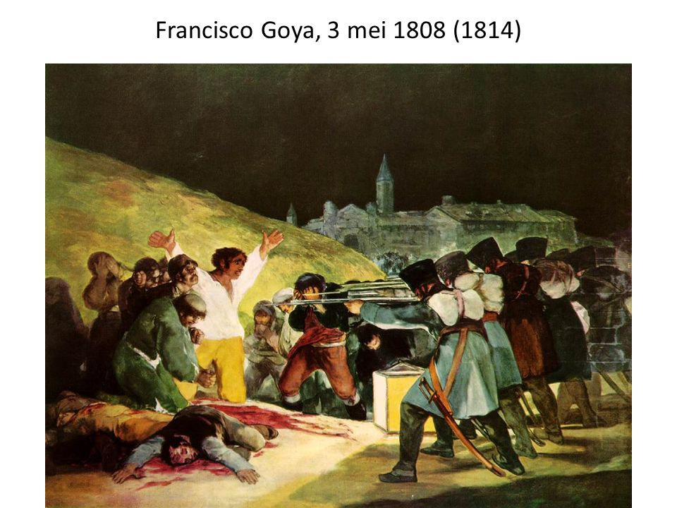 Francisco Goya, 3 mei 1808 (1814)