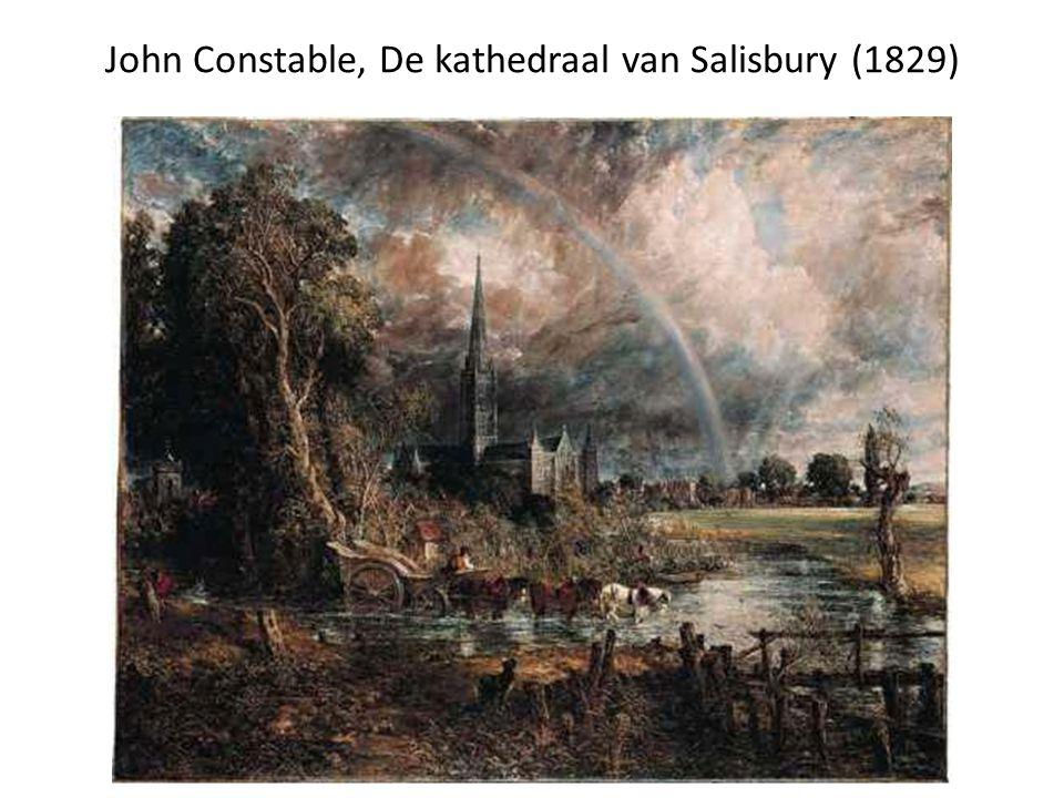 John Constable, De kathedraal van Salisbury (1829)