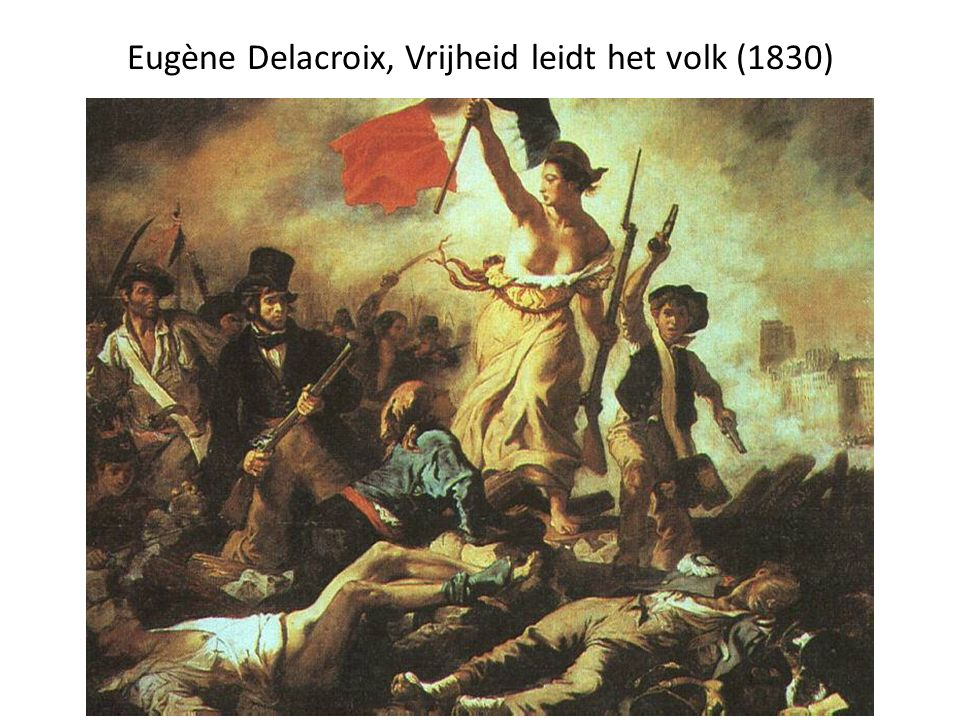 Eugène Delacroix, Vrijheid leidt het volk (1830)