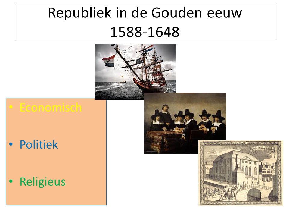Republiek in de Gouden eeuw 1588-1648