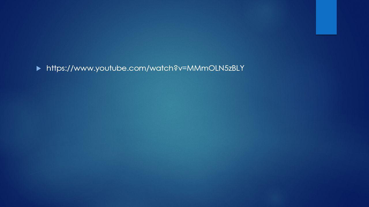 https://www.youtube.com/watch v=MMmOLN5zBLY