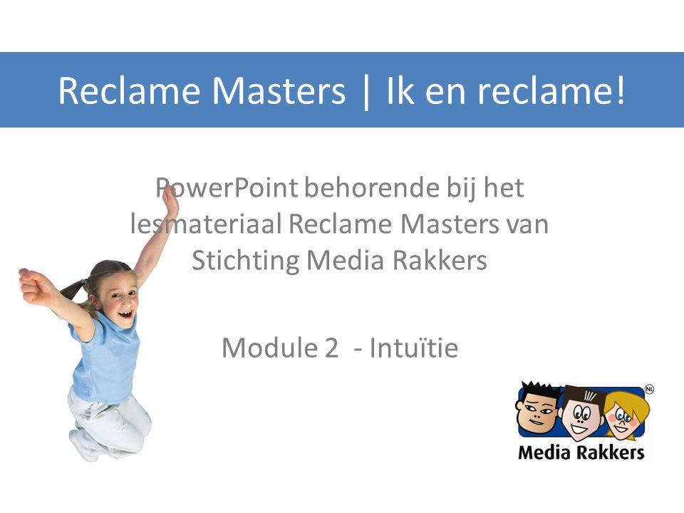 Reclame Masters | Ik en reclame!