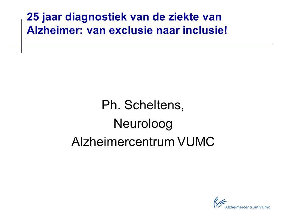 Ph. Scheltens, Neuroloog Alzheimercentrum VUMC