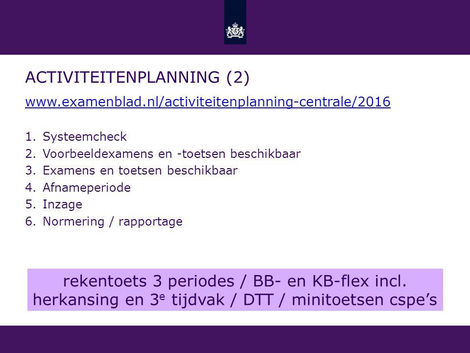Activiteitenplanning (2)