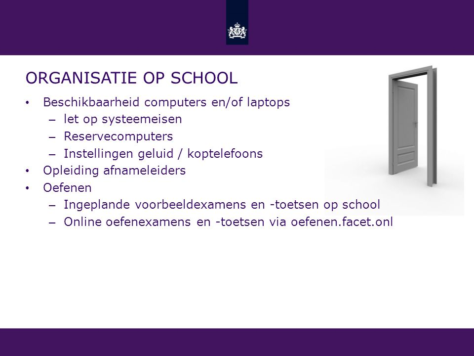 Informatiebijeenkomst Facet - ppt download