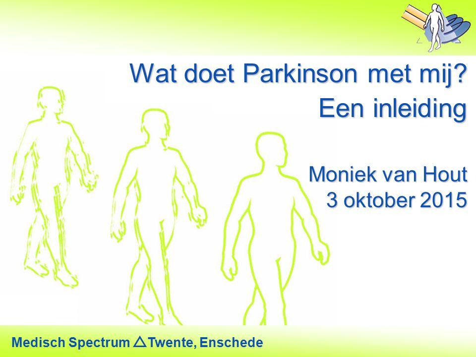 Wat doet Parkinson met mij Een inleiding