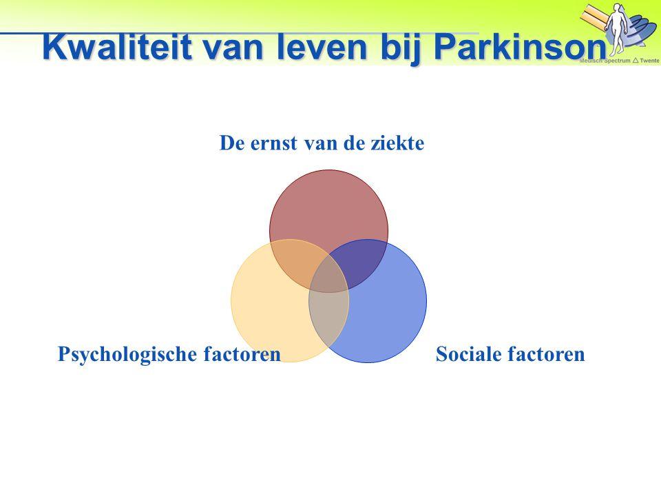 Kwaliteit van leven bij Parkinson