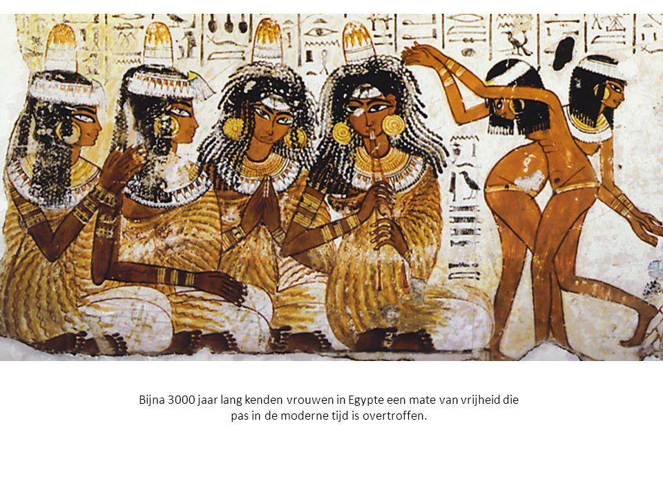 Uiterst links: Cleopatra.
