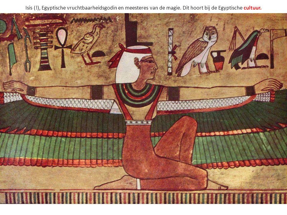 Isis (. ), Egyptische vruchtbaarheidsgodin en meesteres van de magie