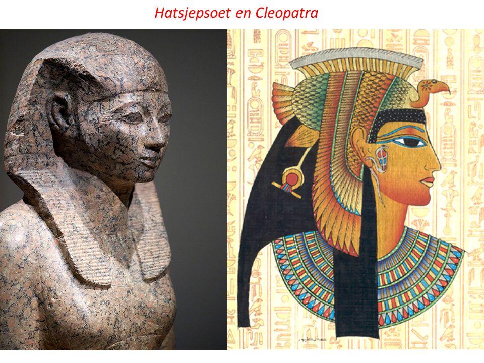 Hatsjepsoet en Cleopatra