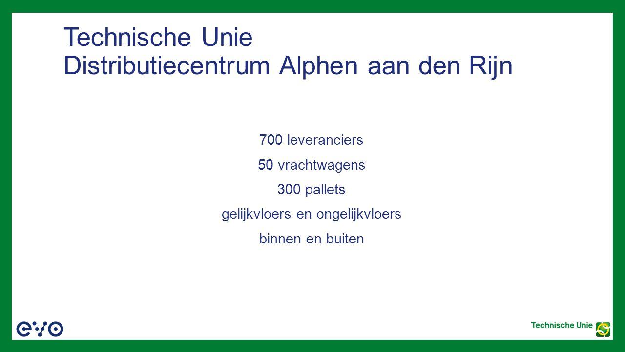 Technische Unie Distributiecentrum Alphen aan den Rijn