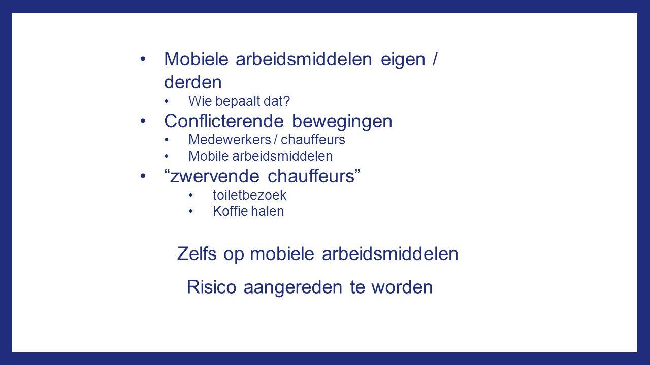 Mobiele arbeidsmiddelen eigen / derden