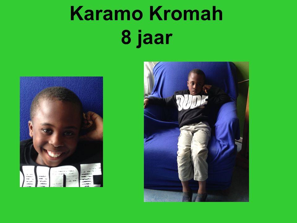 Karamo Kromah 8 jaar