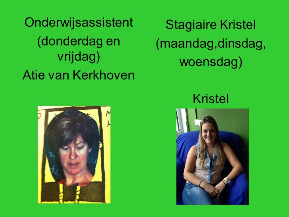 Onderwijsassistent (donderdag en vrijdag) Atie van Kerkhoven