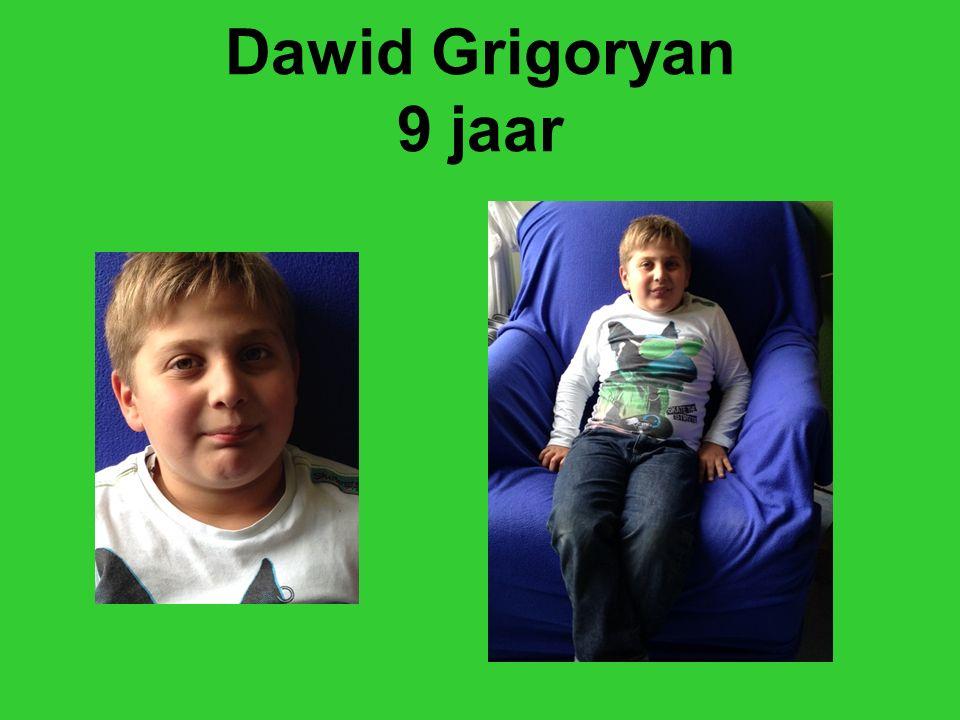 Dawid Grigoryan 9 jaar
