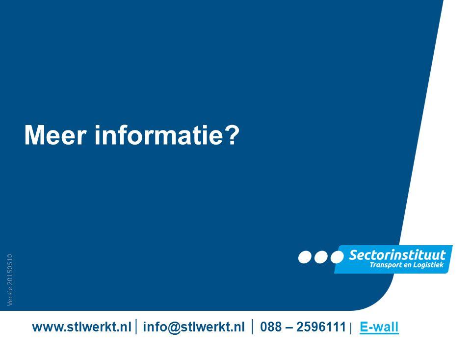 www.stlwerkt.nl│ info@stlwerkt.nl │ 088 – 2596111 | E-wall