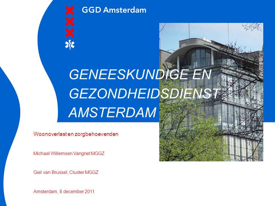GENEESKUNDIGE EN GEZONDHEIDSDIENST AMSTERDAM