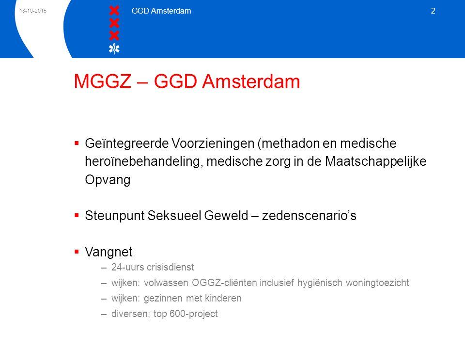 24-4-2017 GGD Amsterdam. MGGZ – GGD Amsterdam.
