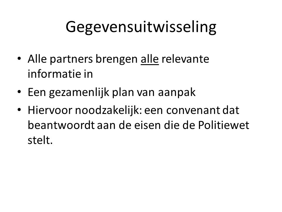 Gegevensuitwisseling