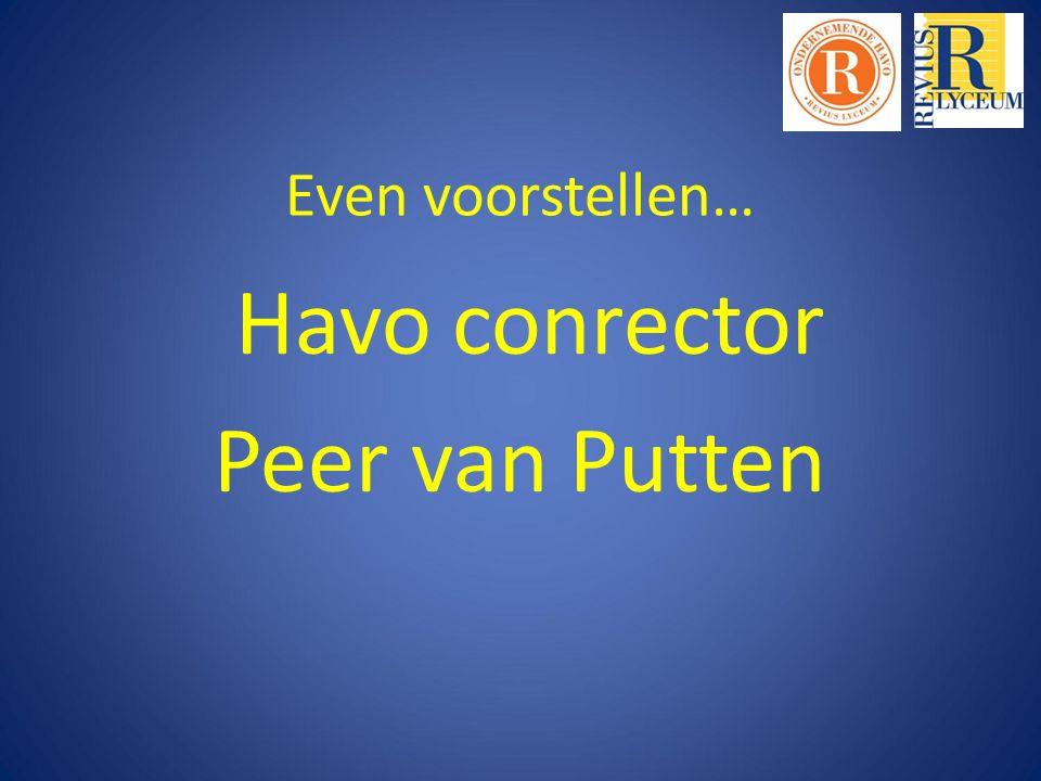 Havo conrector Peer van Putten