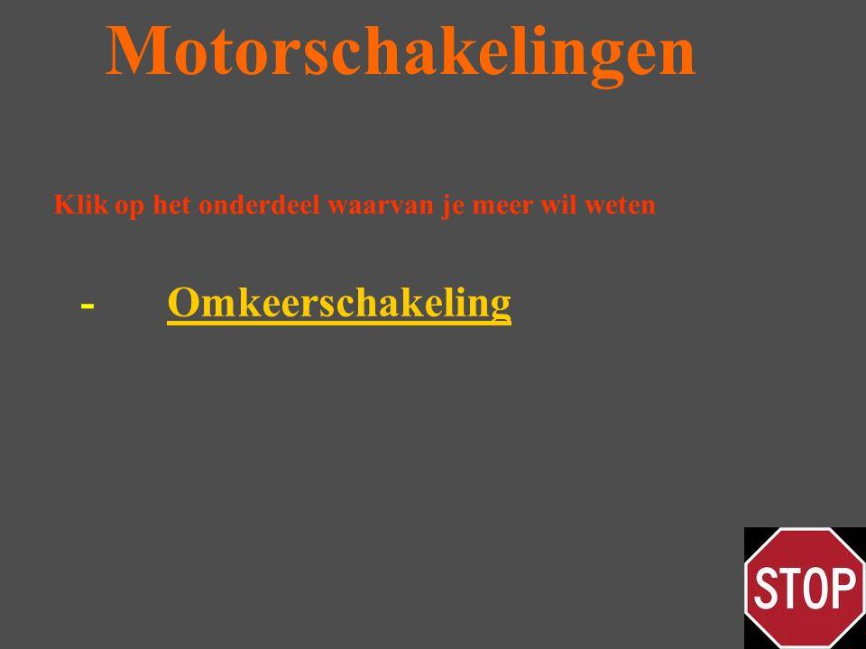 Motorschakelingen - Omkeerschakeling