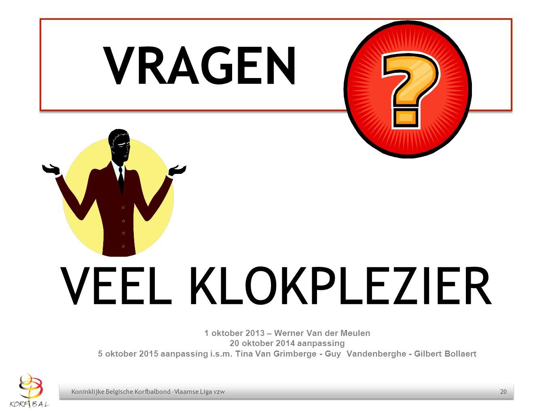 1 oktober 2013 – Werner Van der Meulen