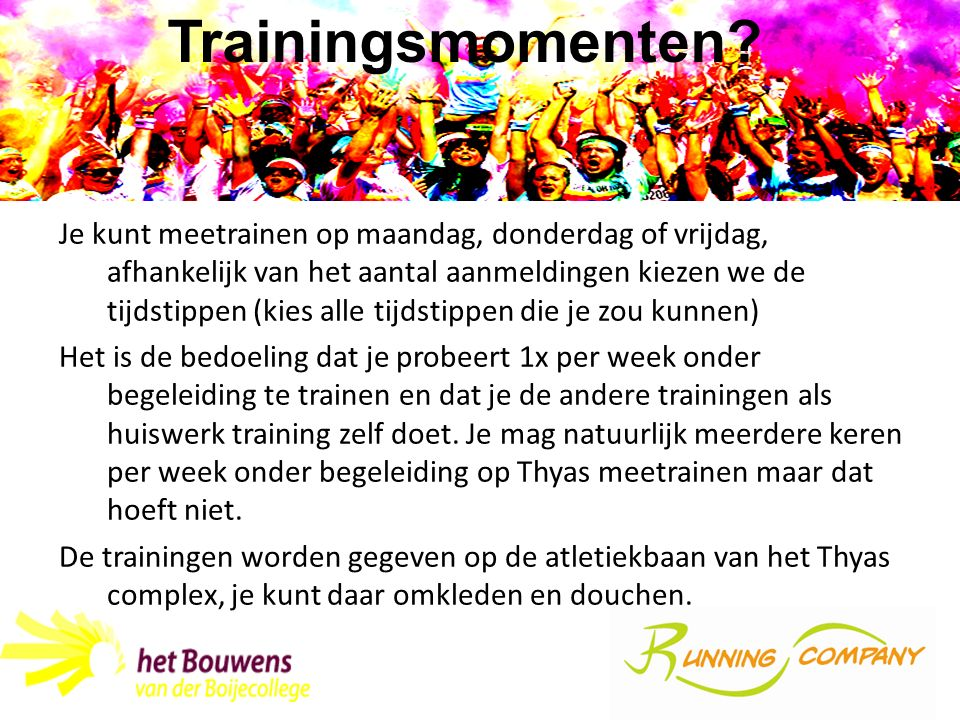 Trainingsmomenten