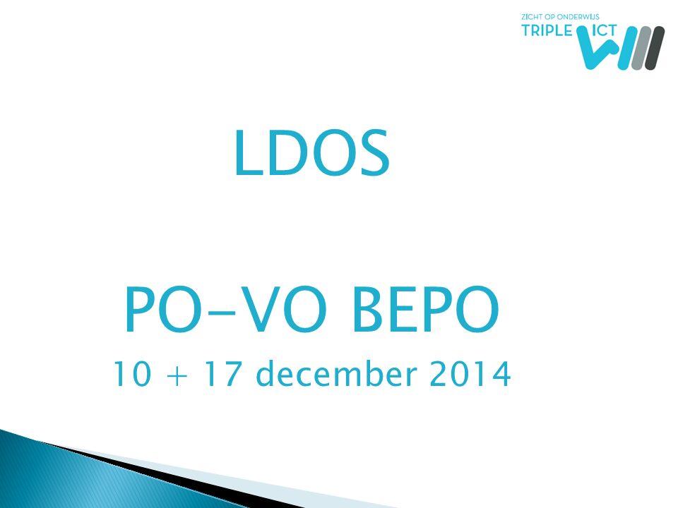 LDOS PO-VO BEPO 10 + 17 december 2014