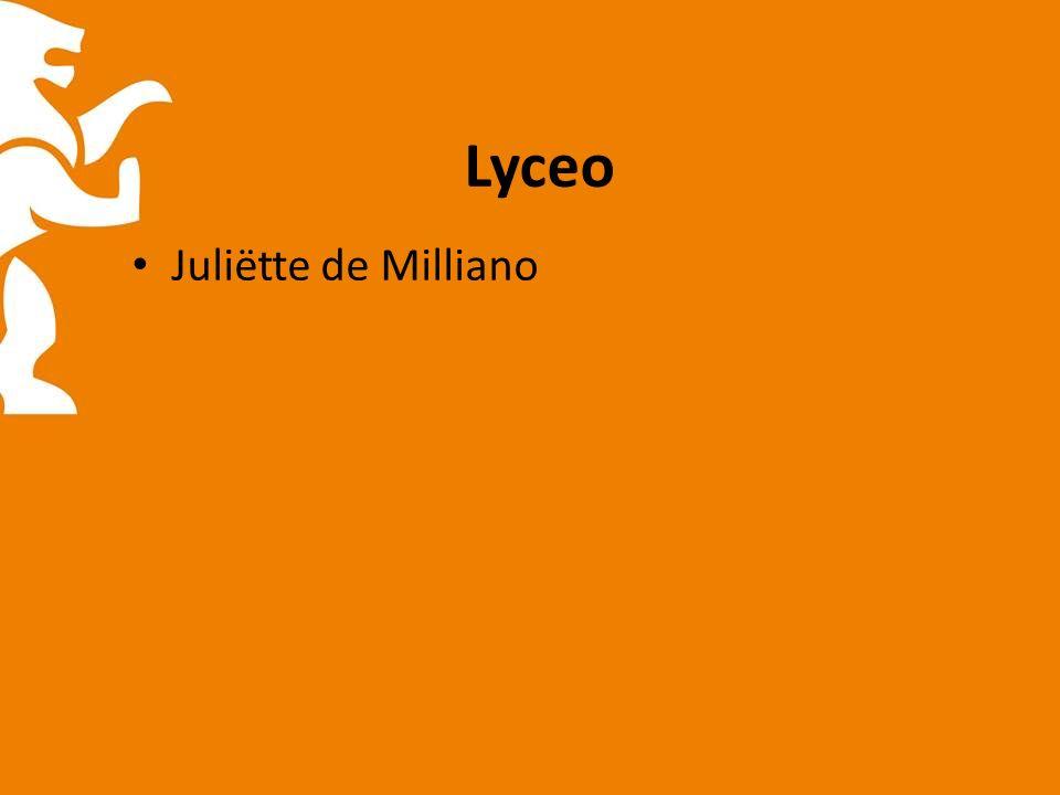 Lyceo Juliëtte de Milliano