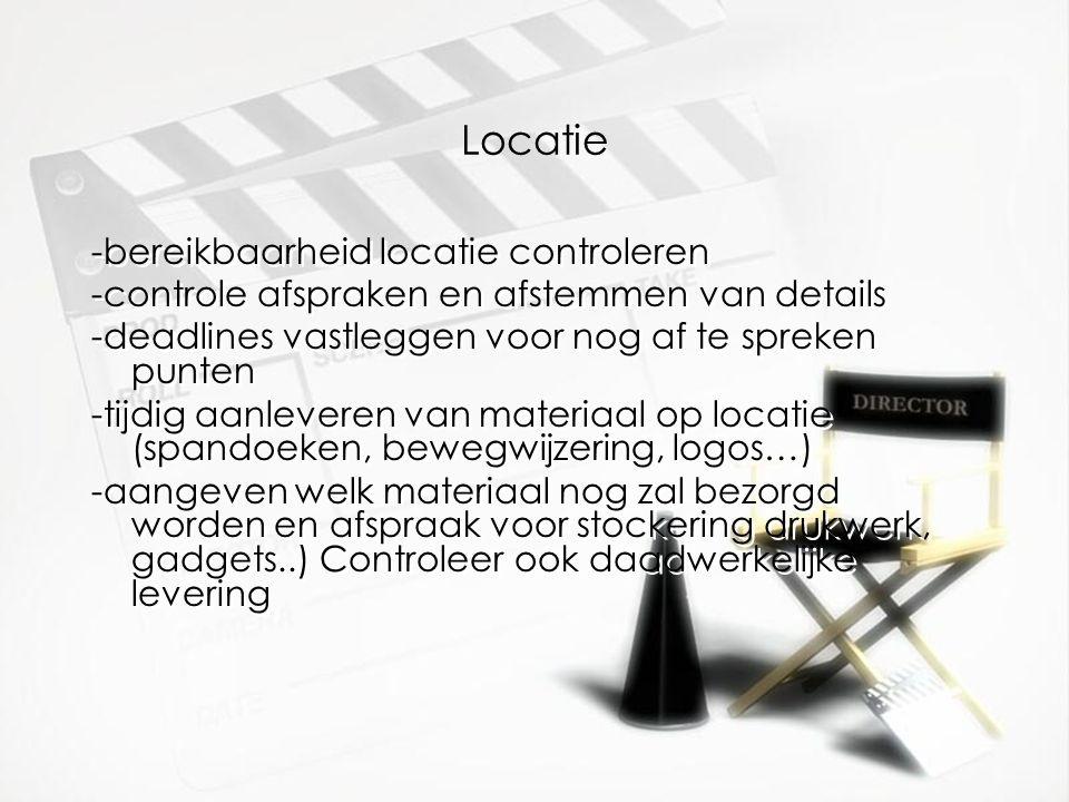 Locatie -bereikbaarheid locatie controleren
