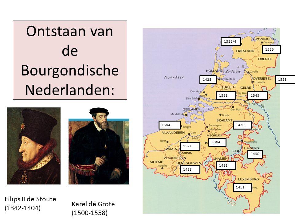 Ontstaan van de Bourgondische Nederlanden: