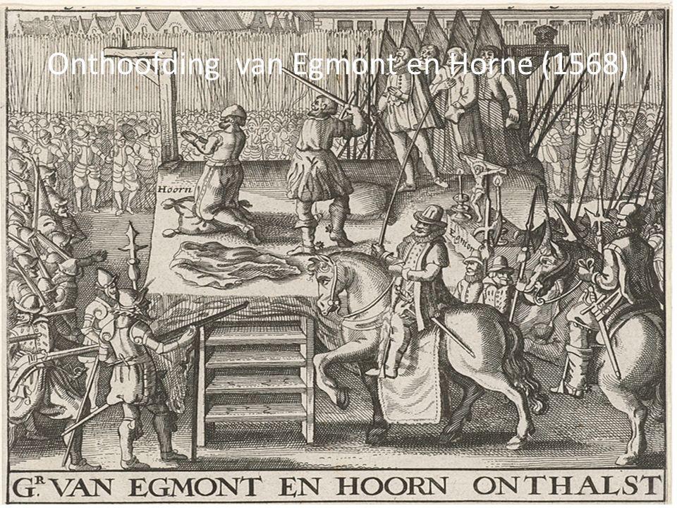Onthoofding van Egmont en Horne (1568)