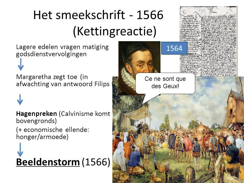 Het smeekschrift - 1566 (Kettingreactie)