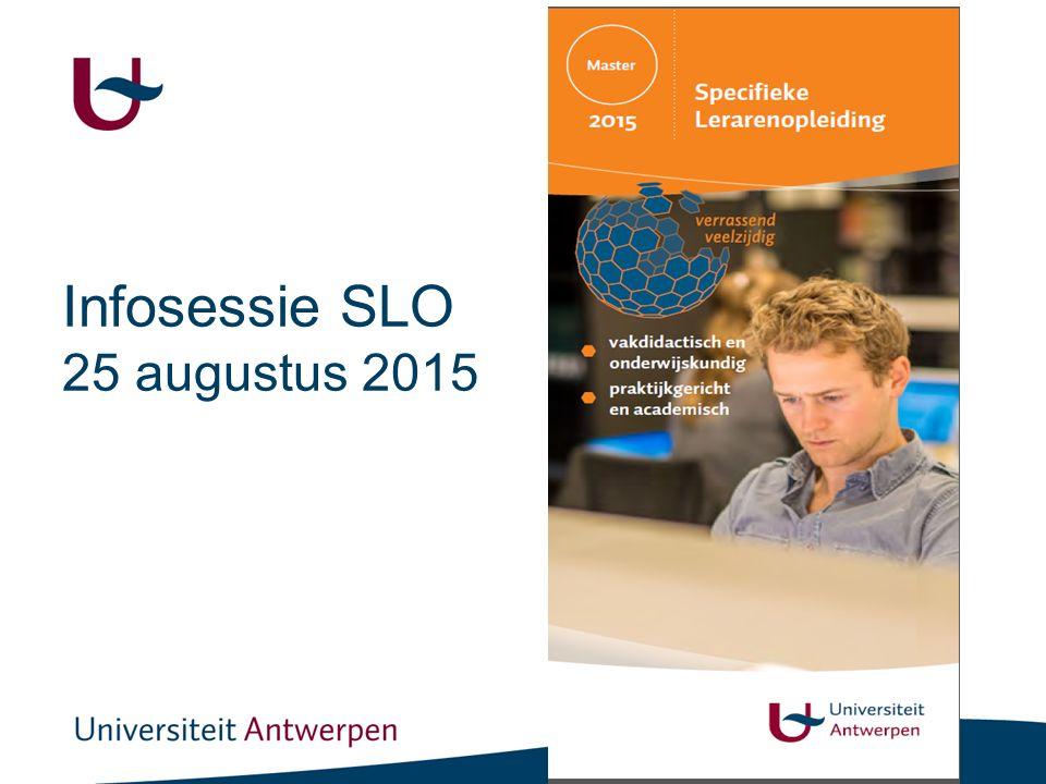 De specifieke lerarenopleiding aan de Universiteit Antwerpen