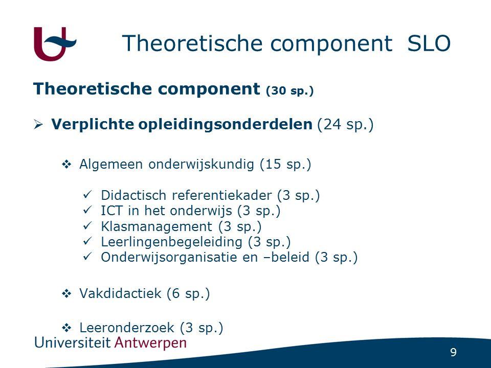 Theoretische component SLO