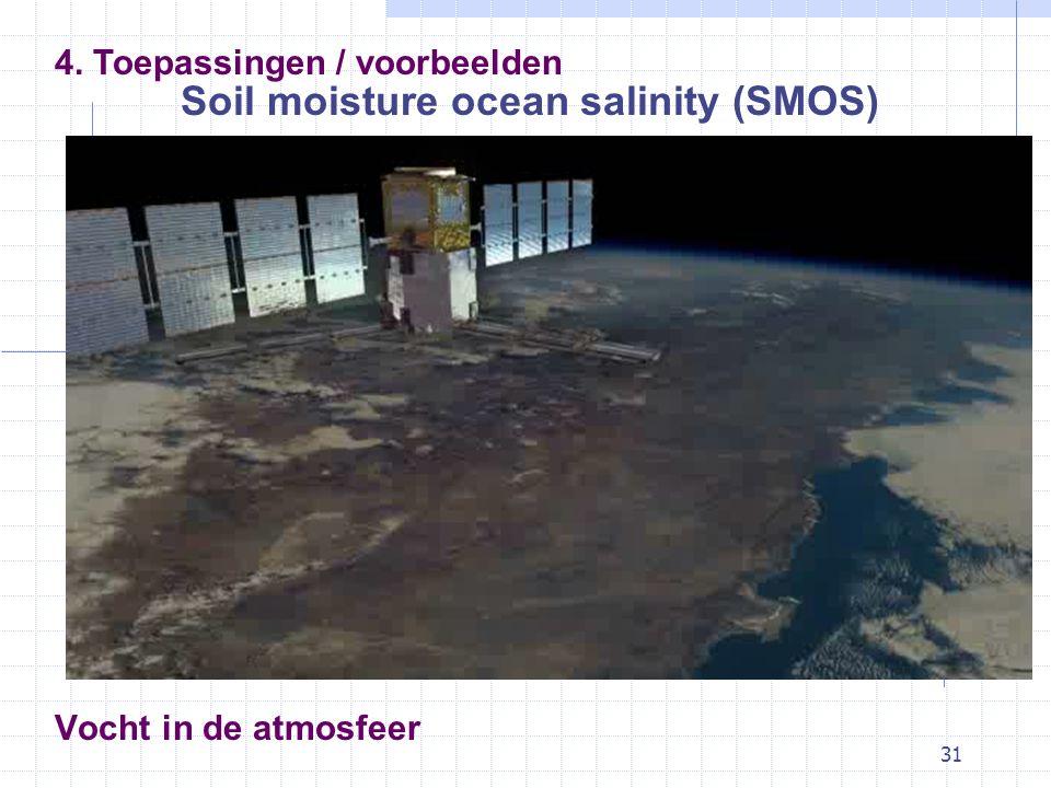 Soil moisture ocean salinity (SMOS)