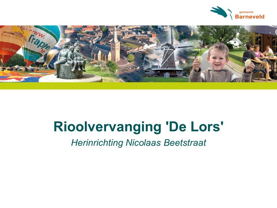 Rioolvervanging De Lors