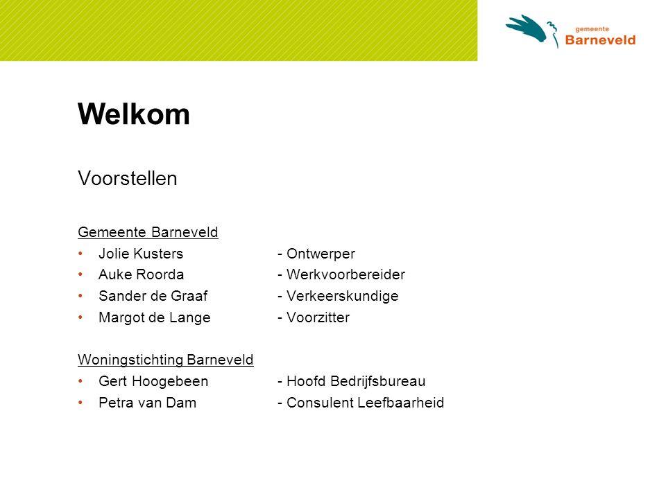Welkom Voorstellen Gemeente Barneveld Jolie Kusters - Ontwerper