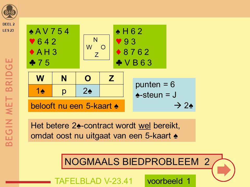NOGMAALS BIEDPROBLEEM 2