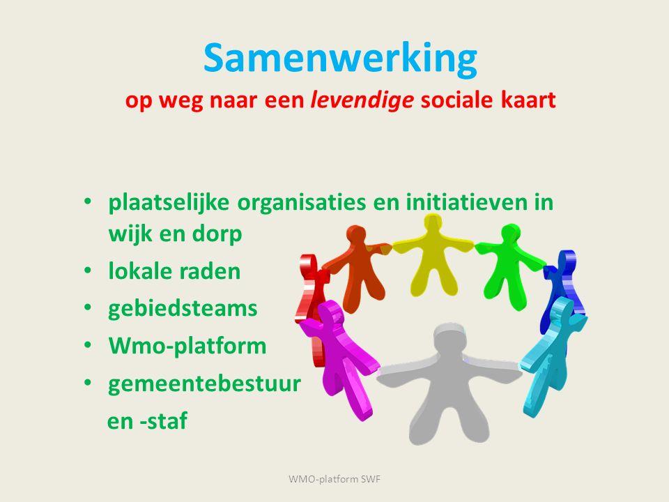 Samenwerking op weg naar een levendige sociale kaart