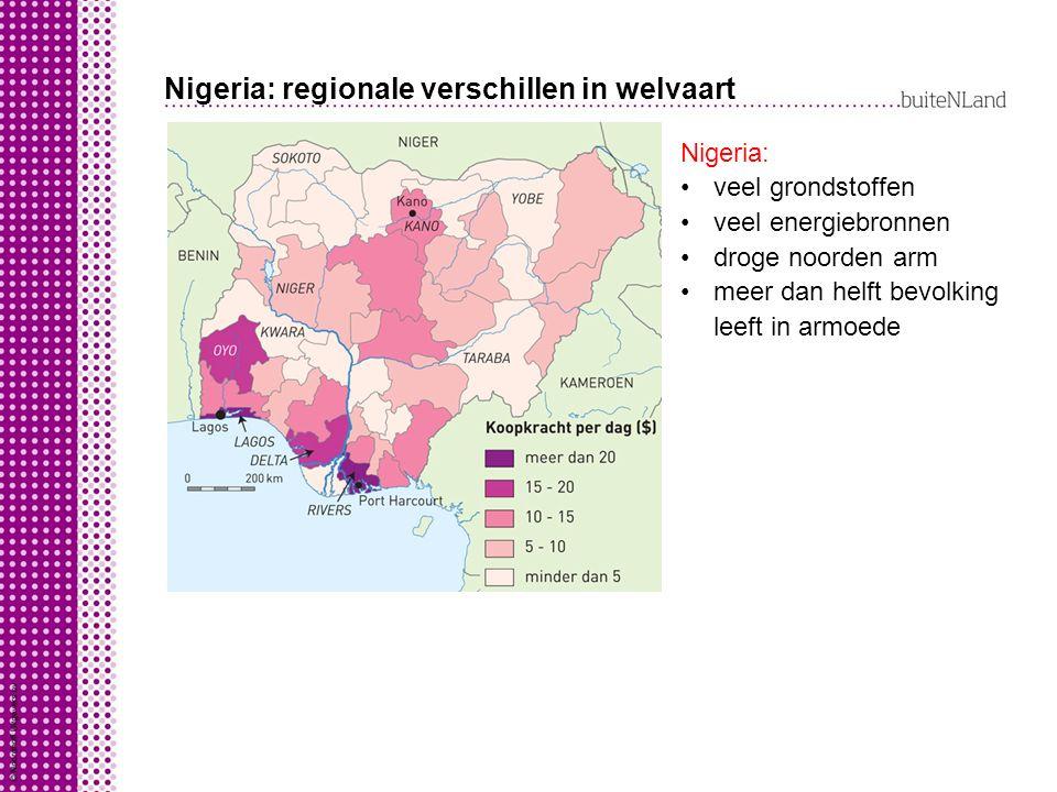 Nigeria: regionale verschillen in welvaart