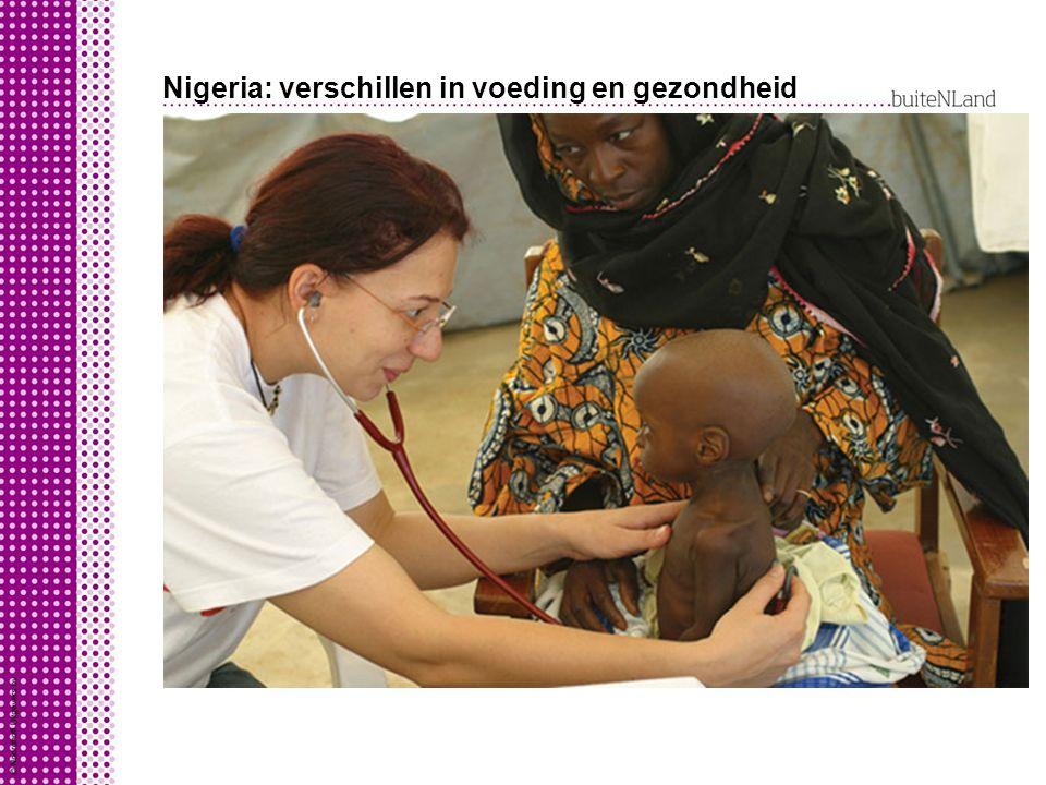 Nigeria: verschillen in voeding en gezondheid