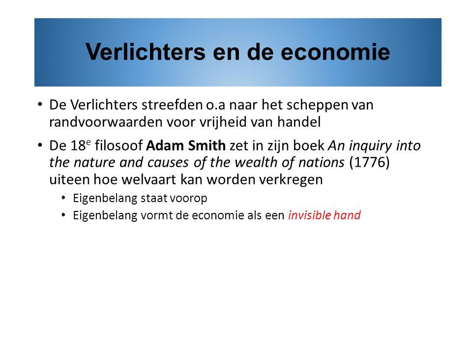 Verlichters en de economie