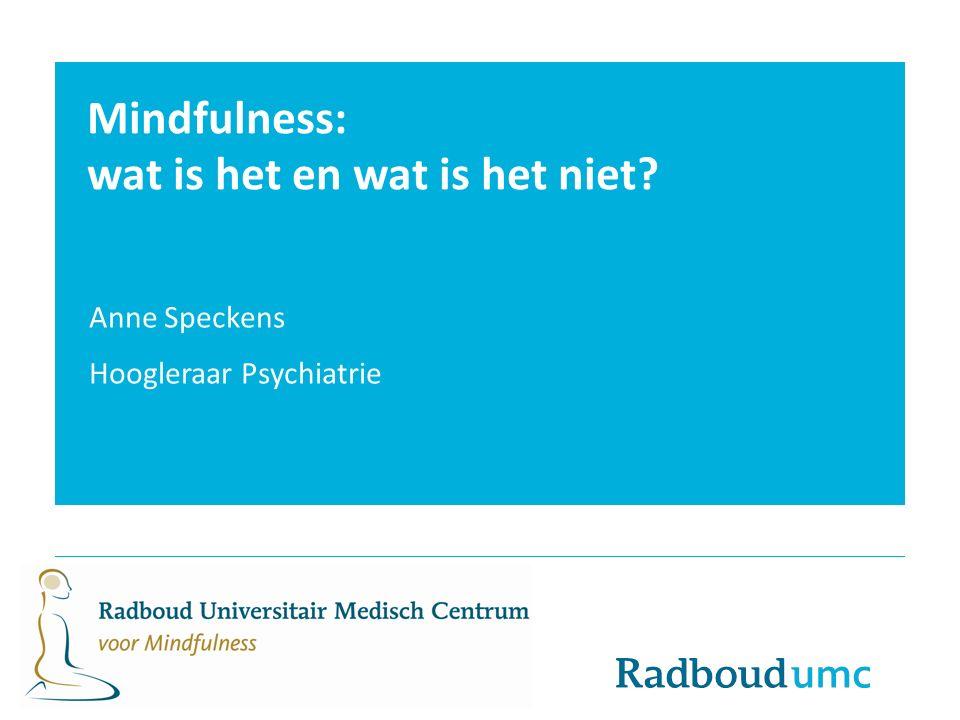 Mindfulness: wat is het en wat is het niet