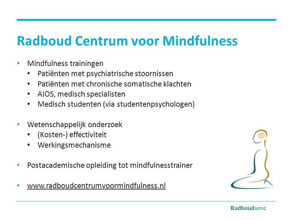 Radboud Centrum voor Mindfulness